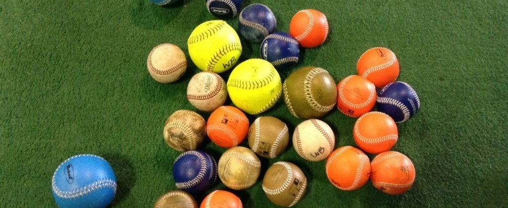 Mix of Weighted Baseballs