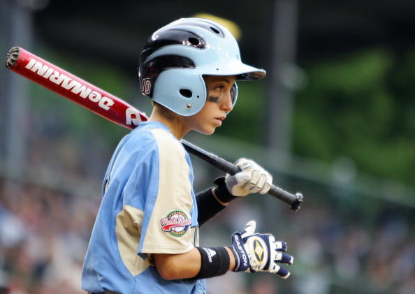 Youth Baseball Batter