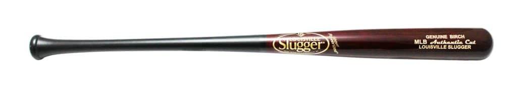 louisville slugger birch wood bat