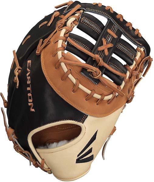 easton professional hybrid baseball first base glove