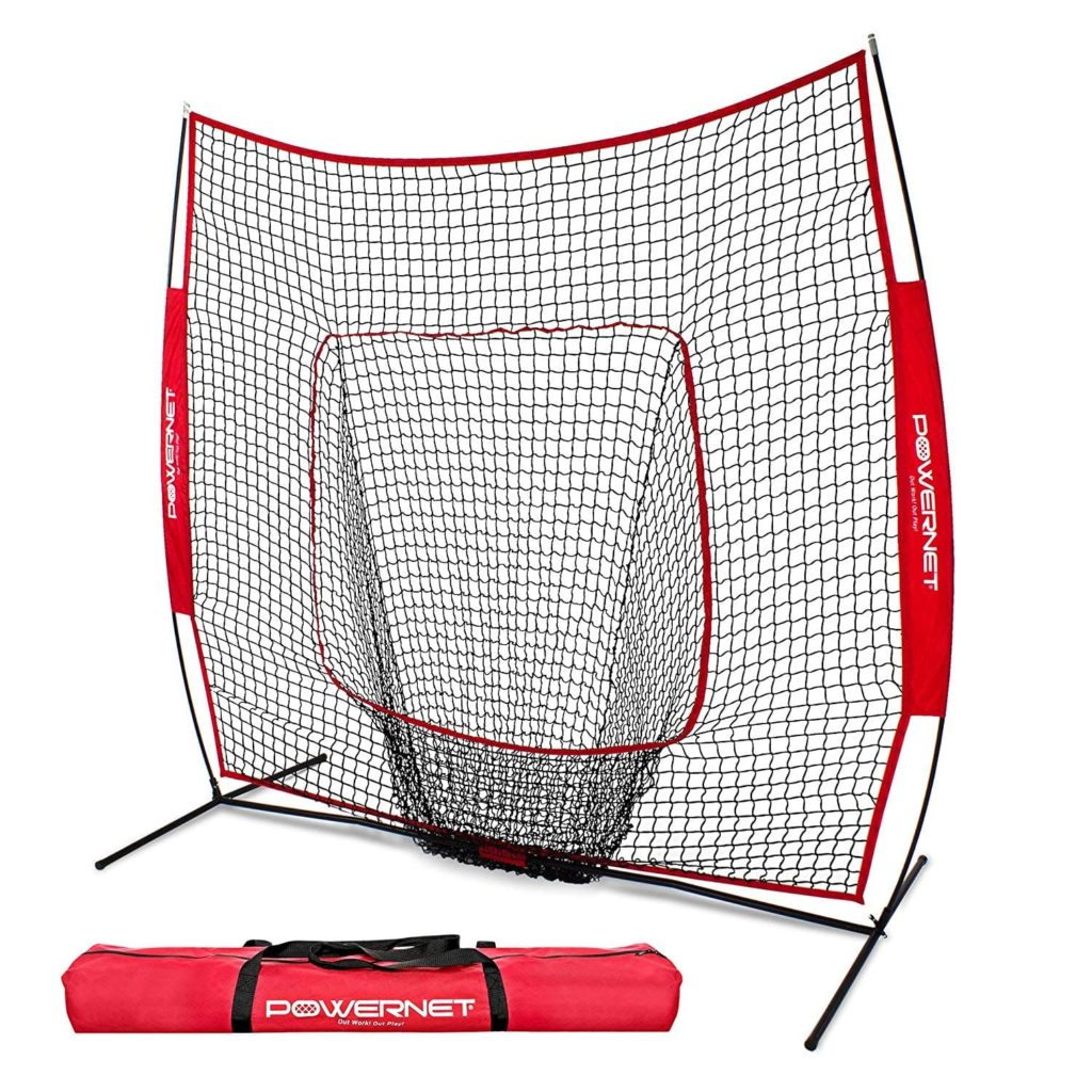 PowerNet-Baseball-and-Softball-Practice-Net-7-x-7-with-bow-frame-min